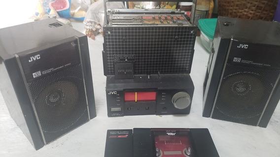 Rádio Gravador Boonbox Jvc No Estado