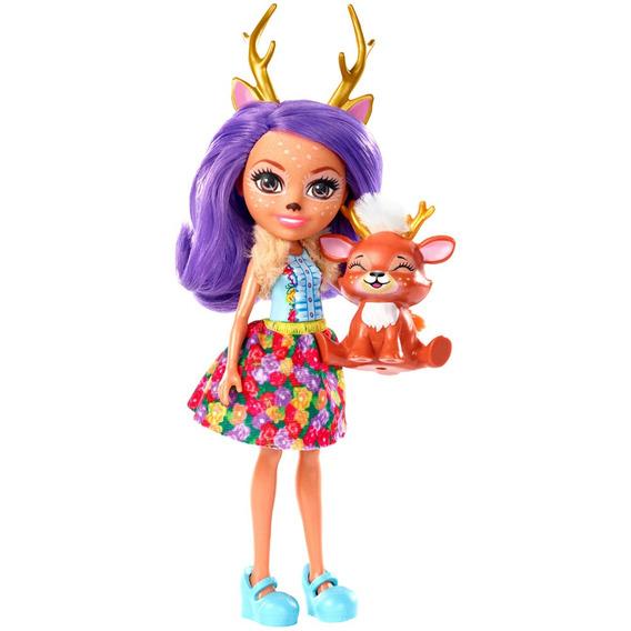 Boneca Fashion E Pet - Enchantimals -danessa Deer E Sprint