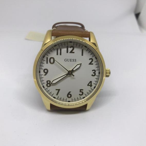 Reloj Guess Caballero Dorado