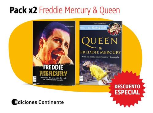 Pack 2 Libros De Freddie Mercury Y Queen Oferta 20% Dto.
