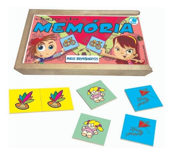 Jogo Da Memória Infantil Meus Brinquedos