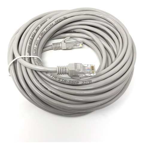 Cable De Red Noga Rj45 10 Metros - Factura A / B