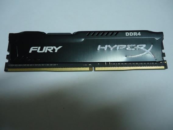 Memória Ddr4 Hyperx 8gb 2400mhz Preta Funcionando 100%