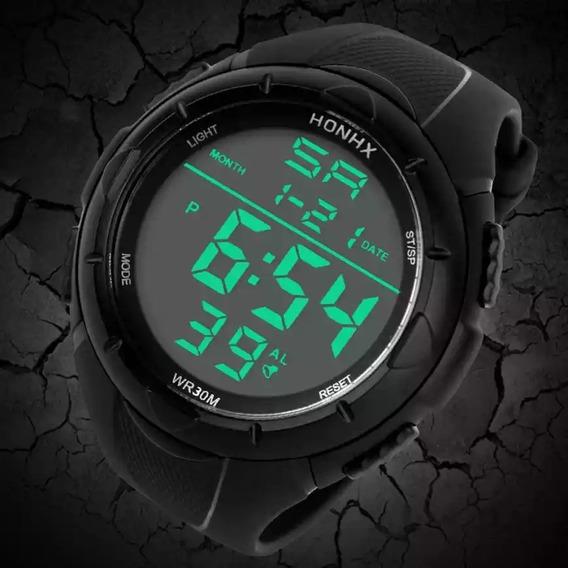 Relógio Masculino Honhx Digital Exército