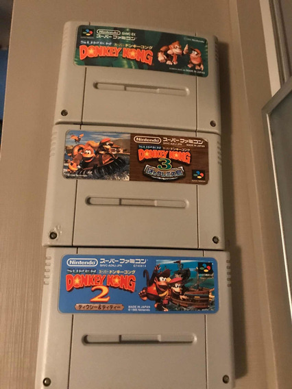 Donkey Kong Trilogia Japa Original