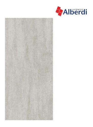 Imagen 1 de 10 de Porcelanato Alberdi Manhattan Dark 60x120 1°cal Rectificado