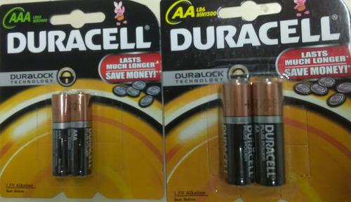 Blister Pilas Batería Aa Aaa Duracell