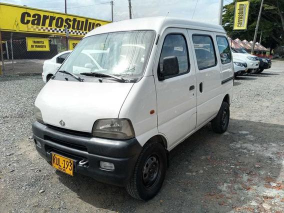 Chana Mini Van Pasajeros Blanca 7 Puestos Mod 2007