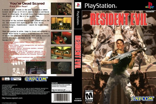 Resident Evil 1 Legendado Para Playstation 1 - Patch