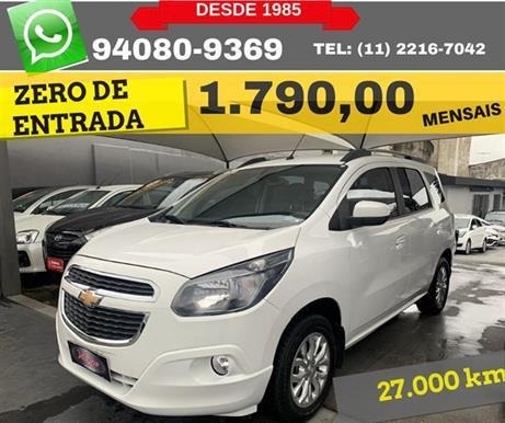 Chevrolet Spin Ltz 1.8 8v Econo.flex 5p Aut 7l 2018