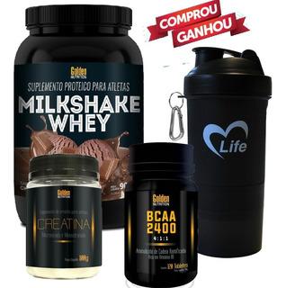 Kit Ganho De Massa Muscular + Maca Peruana Golden Nutrition