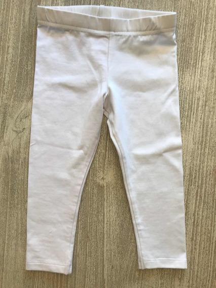 Calza Blanca Bebé Nueva Talle 18 Meses Imp Usa