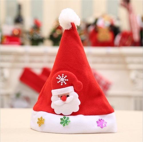 2 Sombreros De Navidad Brillantes Led