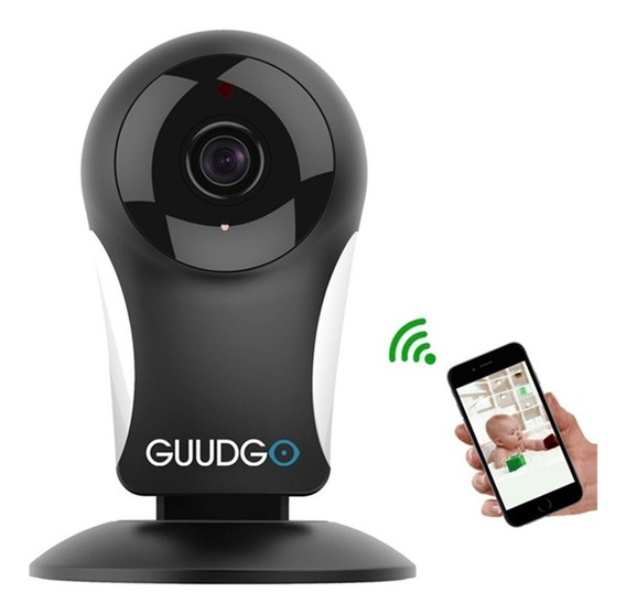 Mini Câmera Guudgo Gd-sc11 Wifi Usb Monitor Segurança Alarme
