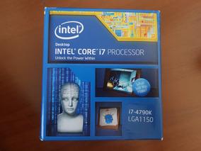 Processador Intel Core I7 4790k 4.4ghz Lga1150 Box C/ Cooler