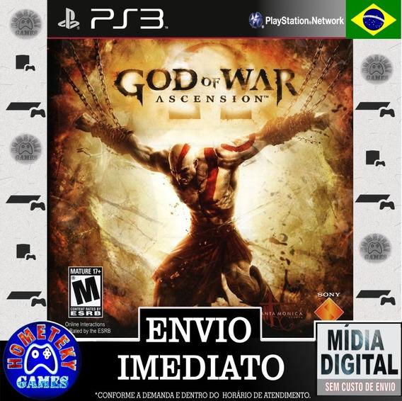 God Of War Ascension - Psn Ps3 Dublado Português Br