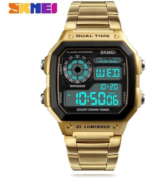 Relógio Masculino De Luxo Skemi A Prova D