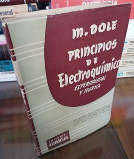 Principios De Electroquímica Expetimental - Dole - 1952