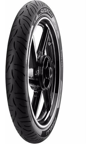 Cubierta Pirelli Super City 2.50 17 C/c 38p Riderpro®