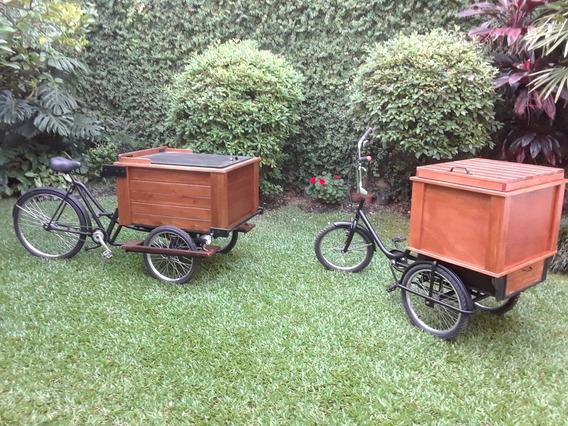 Triciclo De Carga Restaurado A Nuevo Ideal Chopera/foodbike