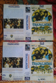 Os Trapalhoes So Capa Vhs, Reditada,,,