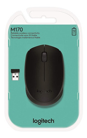 Mouse Logitech M170 Wireless Nano Preto 910-004940