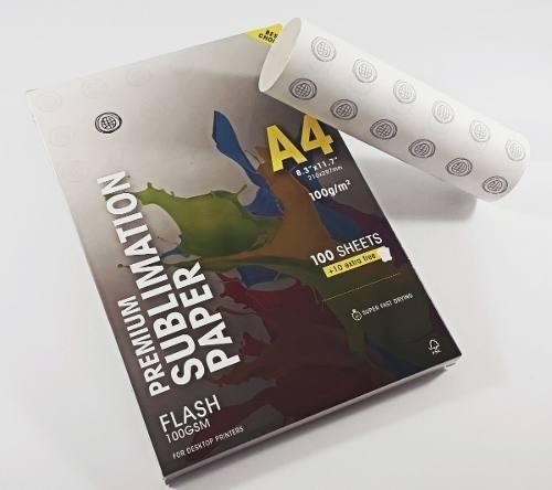 Papel Sublimatico Globinho Mundi Premium 110 Folhas A4 100g