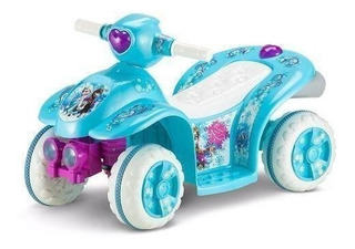 Cuatrimoto Frozen Kid Trax 6v Quad Ride On,azul
