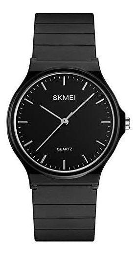 Reloj Skmei Analógico Negro Deportivo Y Casual