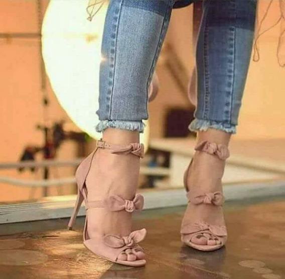 Sandália Feminina Salto Fino 10cm 1820