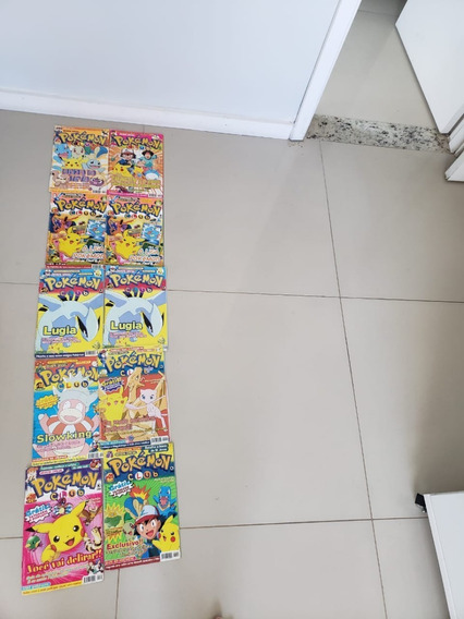 Revistas Pokémon Club E Pokémon Evolution