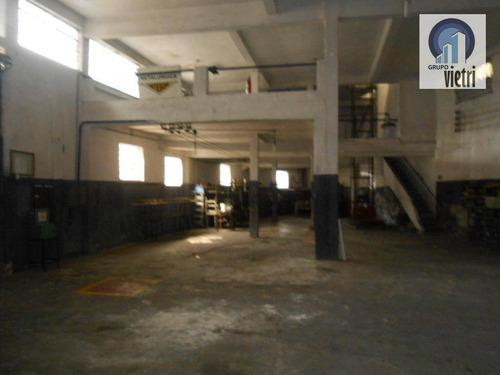 Galpão Com Escritório Na Vila Prudente - Ga0283