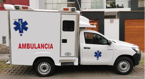 Ambulancia Rural Toyota Hilux 2021
