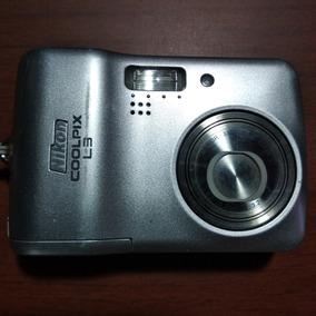 Câmera Digital Nikon Coolpix L3 Usada
