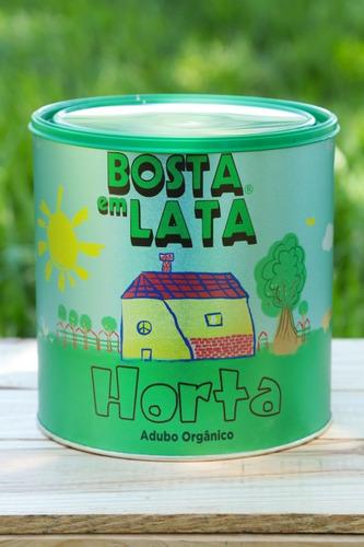 Fertilizante Orgânico Bosta Em Lata Horta - 2,3 Kg