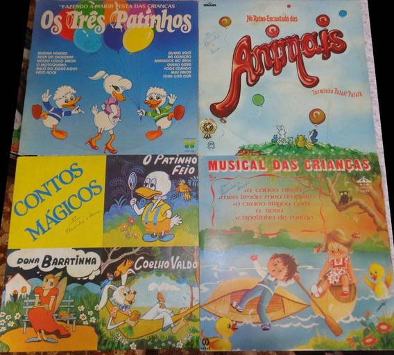 4 Lps Música Infantil - Anos 80