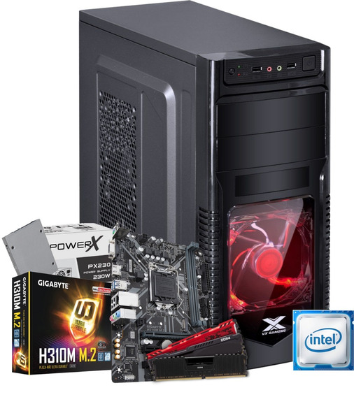 Cpu Orion Intel Pentium G5400 H310m M2 4gb Ssd 120gb 230w