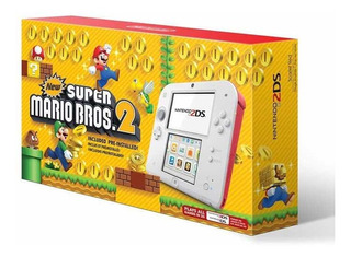 Nintendo 2ds + New Super Mario Bros 2 Envíos ( 110 Volts )
