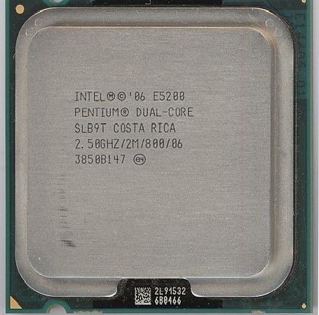 Processador Intel Dual Core E5200 2m 800mhz 2.5ghz Slb9t