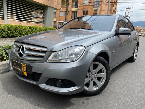 Mercedes Benz C180 Blue Eficienly 1.800cc A/t 6ab Fe 2012