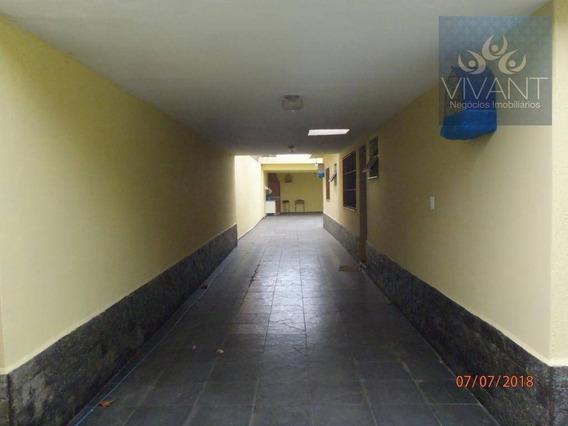 Casa Com 4 Dormitórios Para Alugar, R$ 1.900,00/mês (residencial)- R$ 2.500,00/mês (comercial) - Ca0138