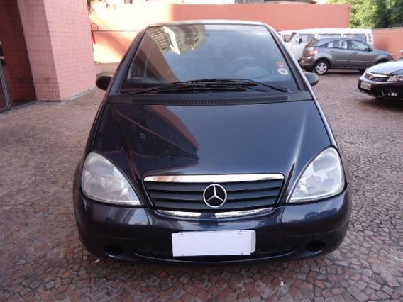 Mercedes Classe A 2003 Maravilhosa Preta Muito Conservada