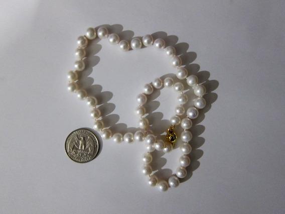 Perlas Cultivadas Blancas Akoya De Japón