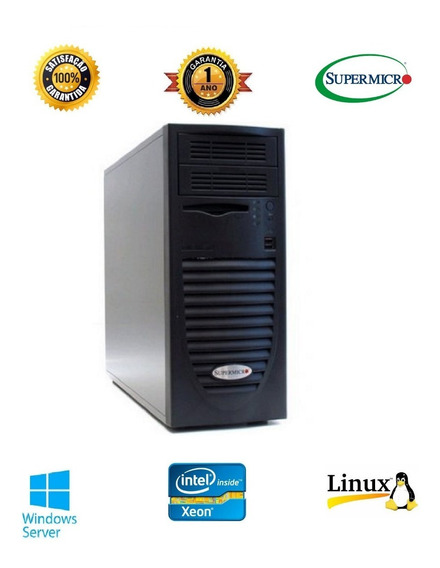 Servidor Workstation Supermicro Intel Quad Xeon Hd Sas Ssd