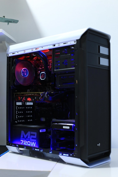 Pc Gamer Core I5 6 Geração Rx 580 8gb 16 Gb Ddr4 Ssd 240 + Hd 1tb + Monitor 2k Dell