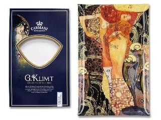 Plato En Cristal Rectangular 45 X 28 Cm Sirenas Klimt