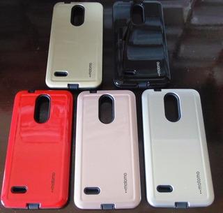 Capa Impacto Diversos Modelos Lg Samsung Zenfone + Peli -6un