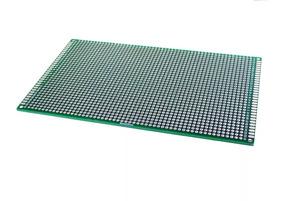 Placa Pcb Fenolite Circuito Impresso Verde 9x15cm