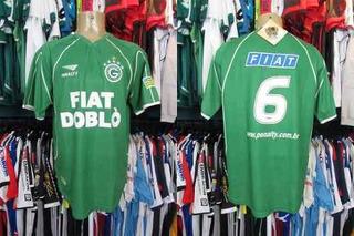 Goiás 2002 Camisa Titular Tamanho G Número 6.
