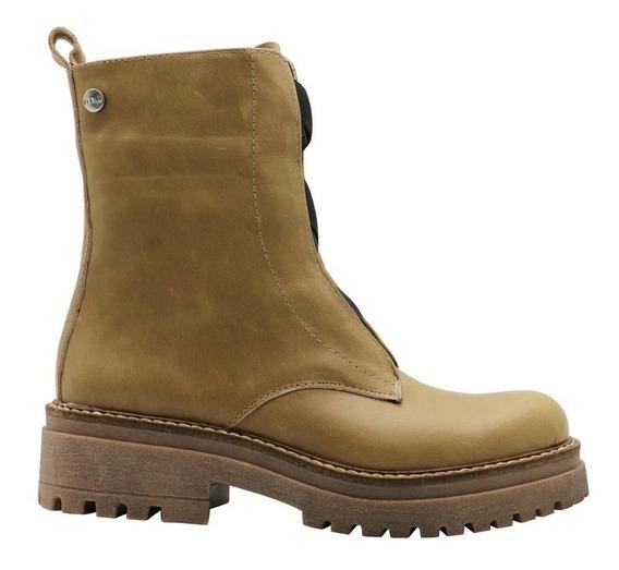 Zapatos Botas Botinetas Botitas Mujer Cuero Vison Leblu 825